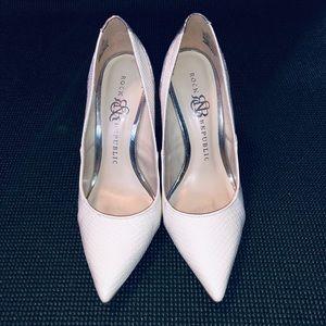 Rock & Republic White Heels
